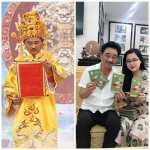 Hình ảnh: Nghệ sĩ Quốc Khánh sử dụng sản phẩm Tiến Hạnh