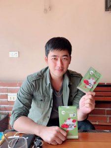Nam diễn viên Bảo Anh dùng sản phẩm tăng cân Tiến Hạnh