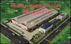 Nhà máy sản xuất dược mỹ phẩm tpcn LasVa - Sơn Tây - Hà Nội